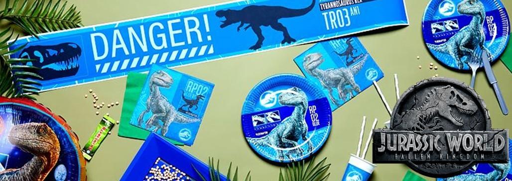 Jurassic World verjaardag feestartikelen