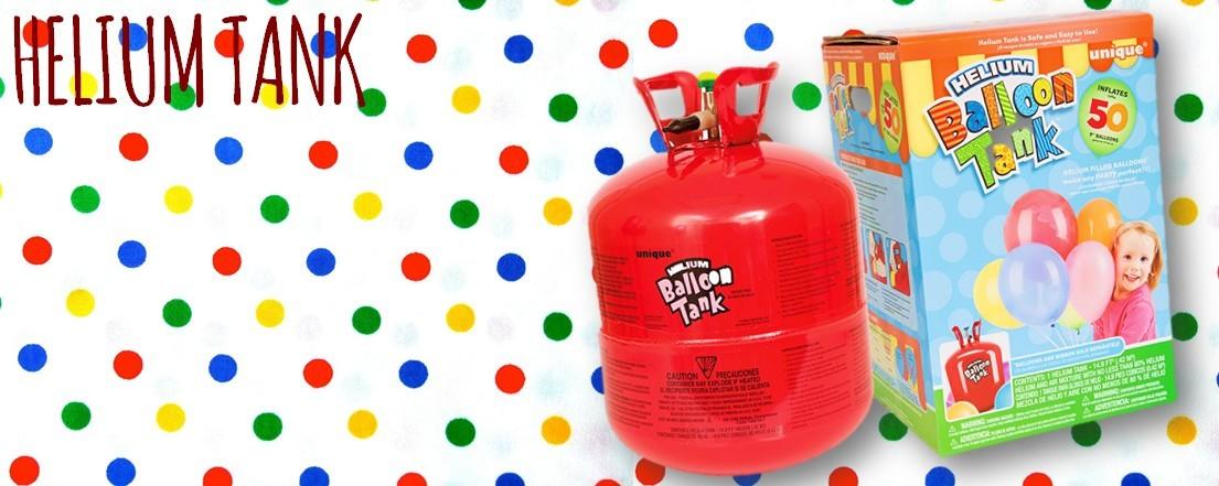 Helium tank bestellen