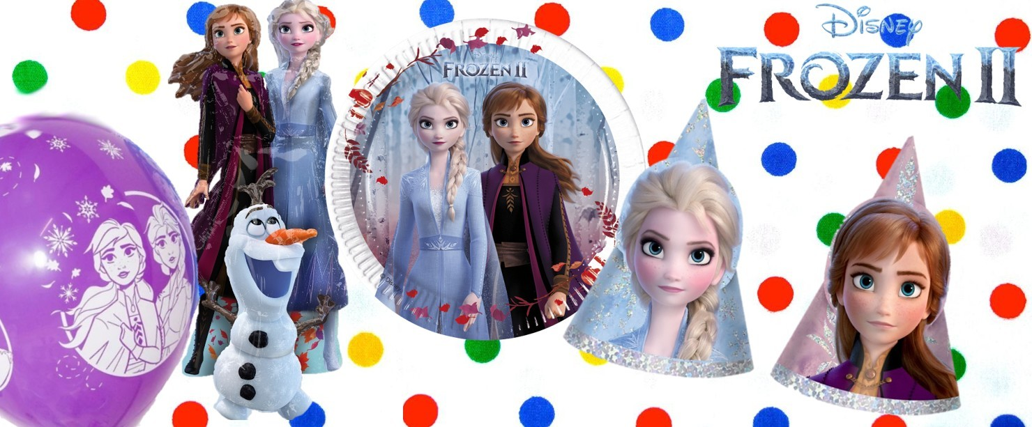 Frozen 2 versiering verjaardag