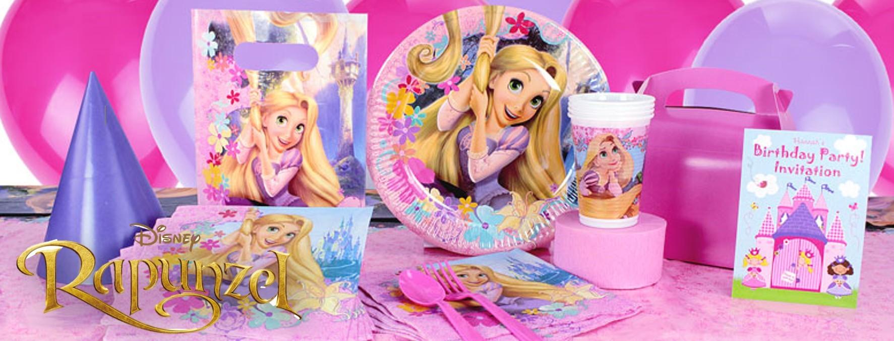 Rapunzel feestartikelen verjaardag