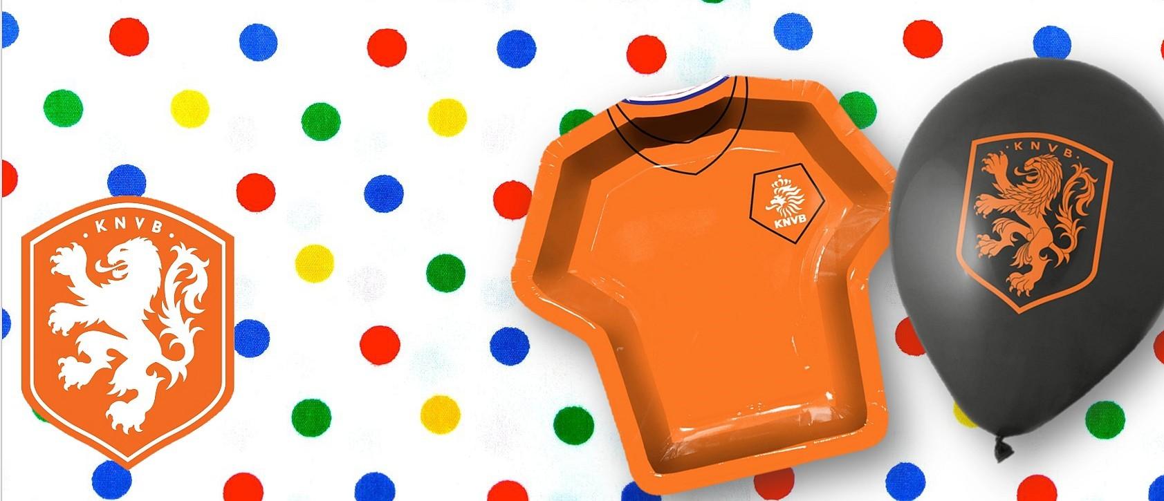 Oranje EK versiering
