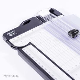 Snijliniaal Paperuel met uitklapbare liniaal 30,5 x 15 cm