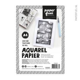 Aquarelpapier A4 10 vel