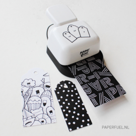 Cadeaulabel blok met 120 labels