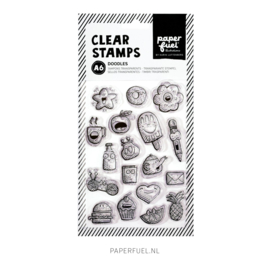 Clear stamps A6 Doodles
