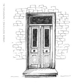 Online instagram urban sketching cursus