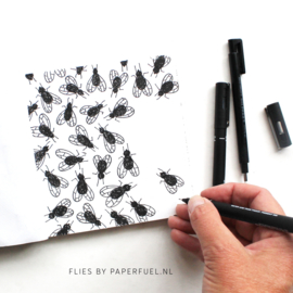 Schetsblok 13 x 13 cm Bindewerk Scribble