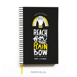 Weekplanner blanco Rainbow