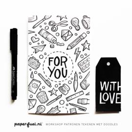 Workshop patronen tekenen met doodles // Paper Passion 18 oktober 11.30 uur