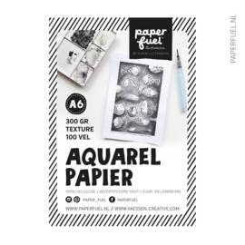 Aquarelpapier A6 100 vel