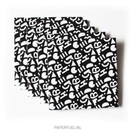 Envelop 12 x 12 cm pattern