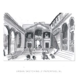 Online instagram urban sketching 2.0 cursus