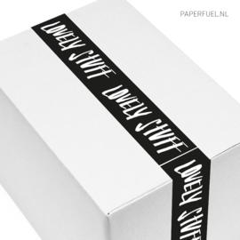 Verpakkingstape 'lovely stuff'