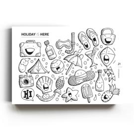 Boek 'Dare to doodle' XXL