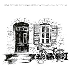 Workshop 'Urban sketching' vrijdag 3 april