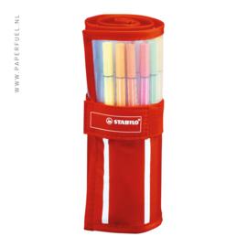 Stabilo pen 68 rollerset met 30 kleuren