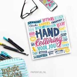 Kinderboek Handlettering voor jou