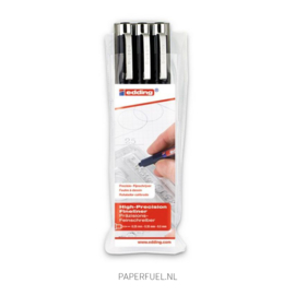 Sakura Pigma Micron fineliners  black // Set of 3