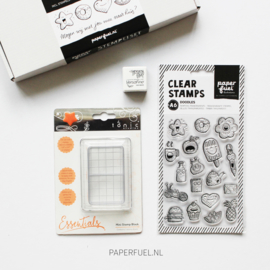 Giftbox stempel start set