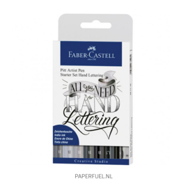 Handletter starter set Faber Castell set 9