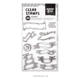 Clear stamps A5 Banners