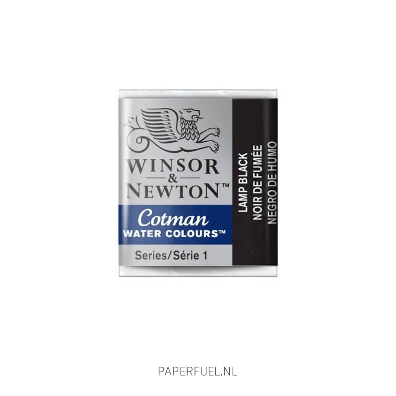 Winsor & Newton Cotman 337 lamp black
