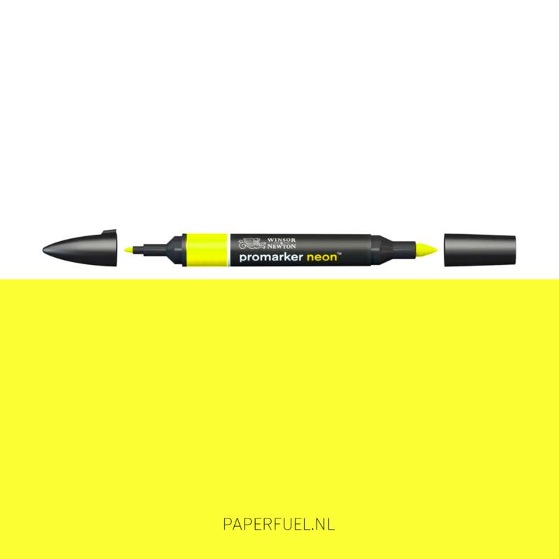 Promarker neon yellow (waterbasis)