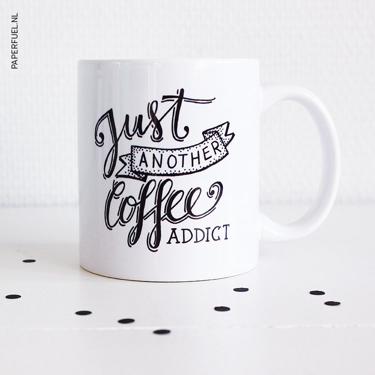 Mug Just another coffee addict