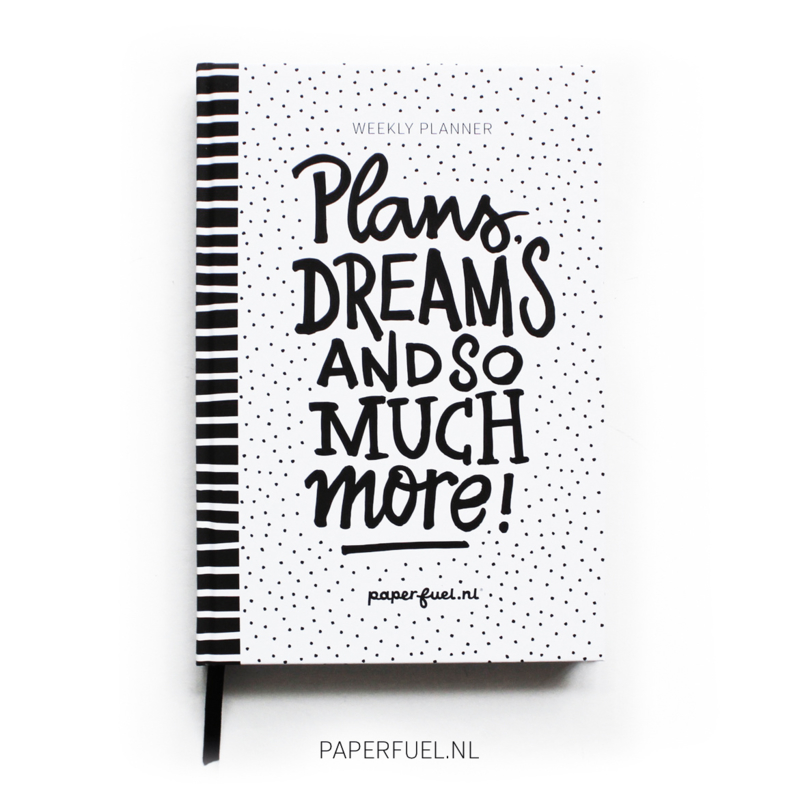 Weekplanner blanco
