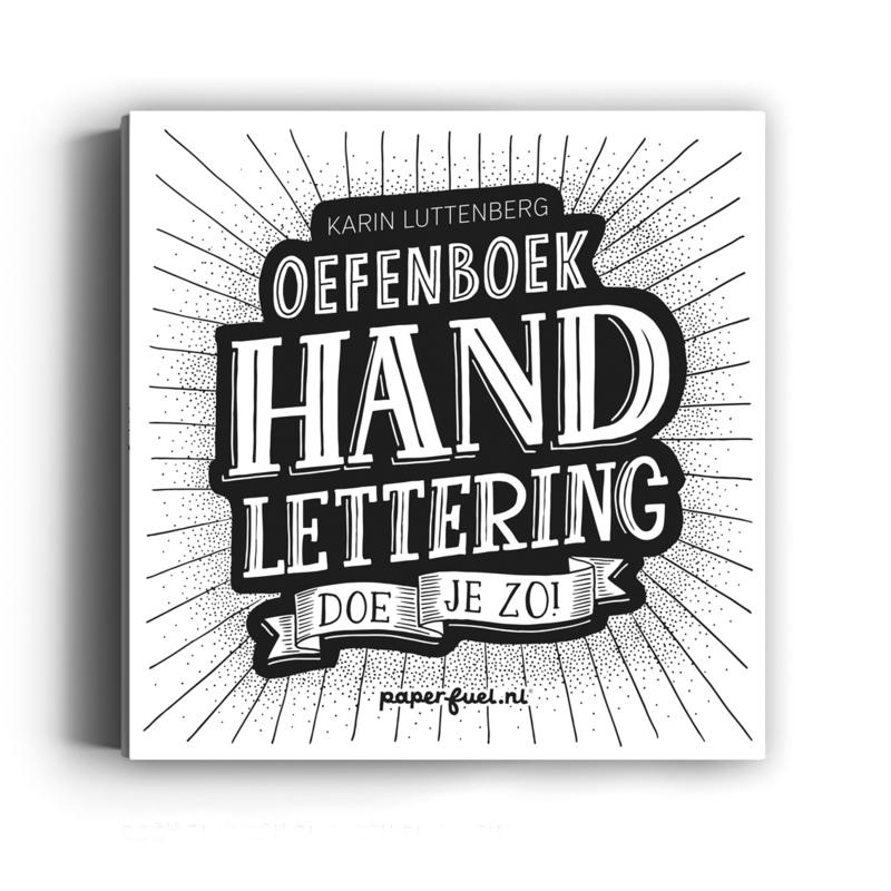 Oefenboek Handlettering doe je zo!