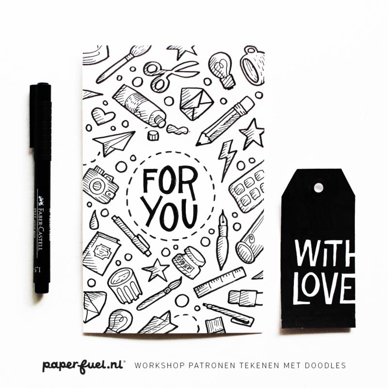 Workshop patronen tekenen met doodles // KreaDoe 30 okt-3 nov 14.30 uur