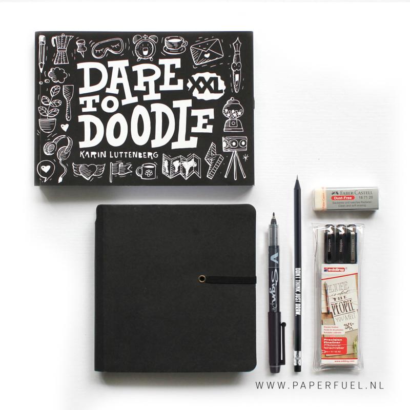Starterset doodle S met doodle boek