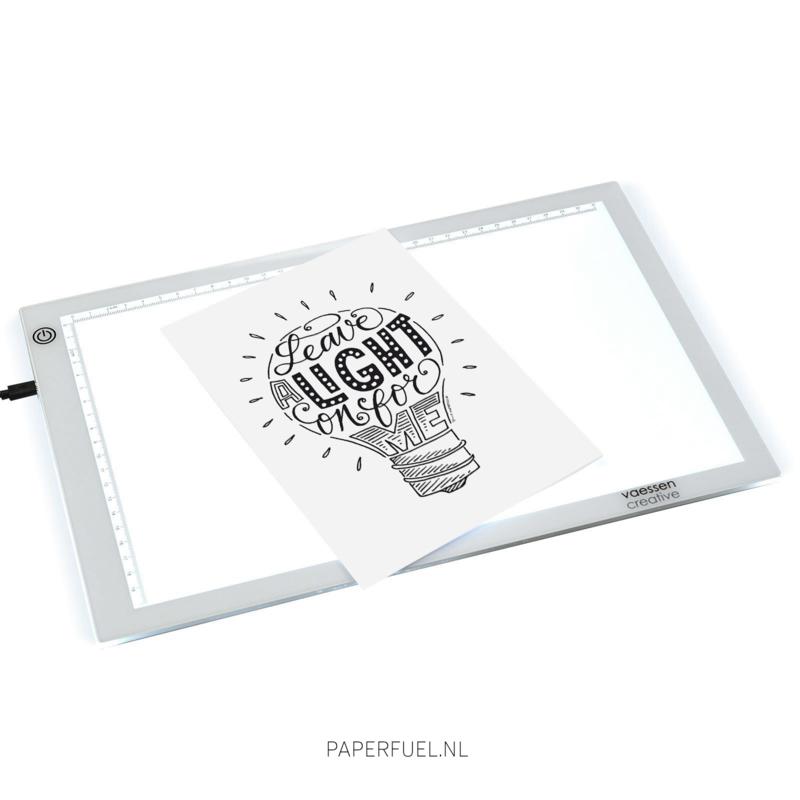 Lichtbak A4 LED
