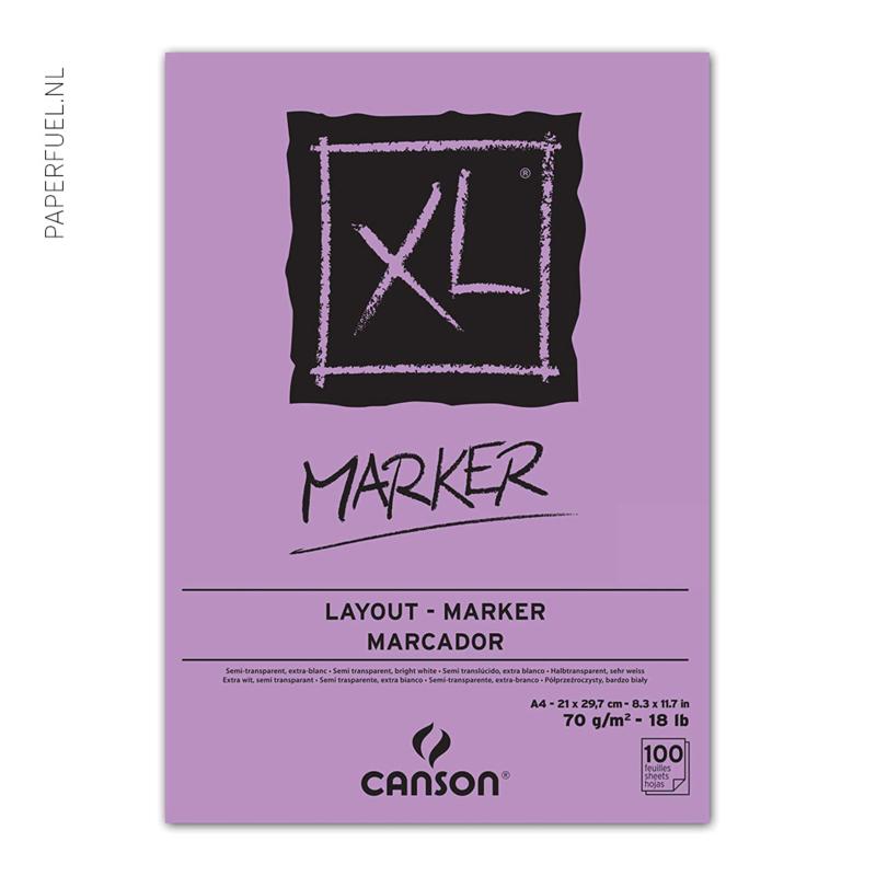 Alchoholmarker papier Canson A4 70 gr