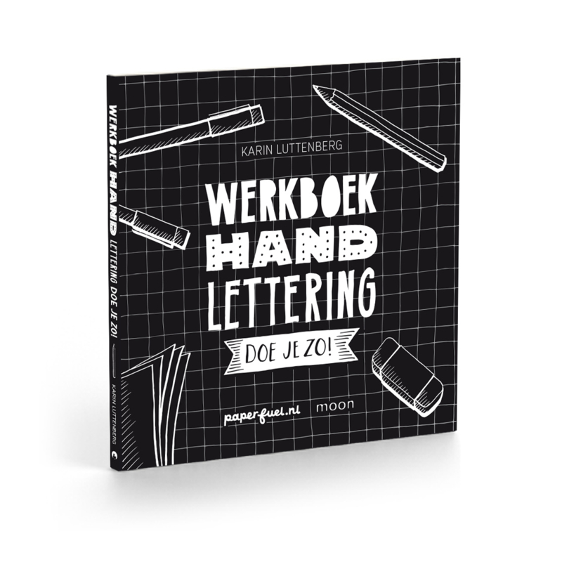 Workbook Handlettering doe je zo! *DUTCH ONLY*