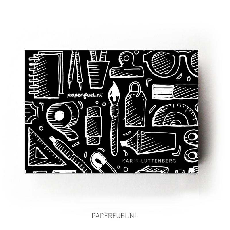 Tekenblok A6 doodles
