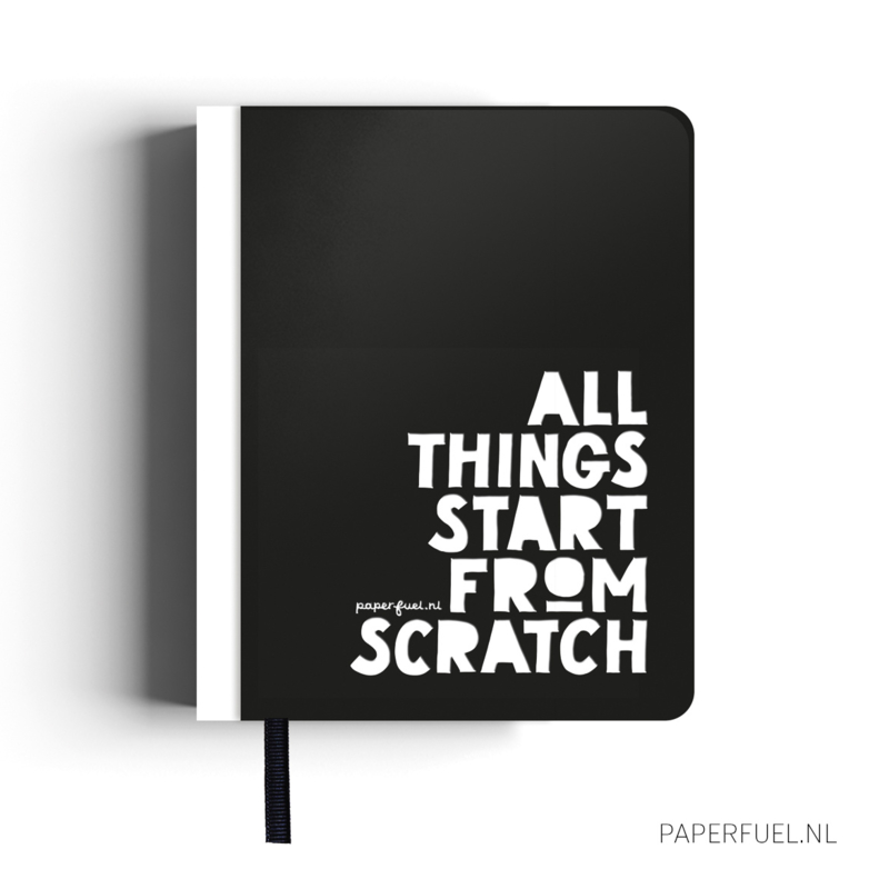 Notebook A5 Start from scratch