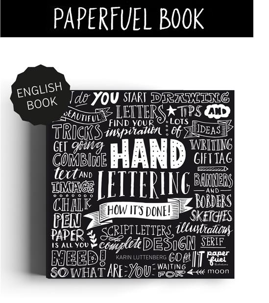 Paperfuel book Handlettering doe je zo!