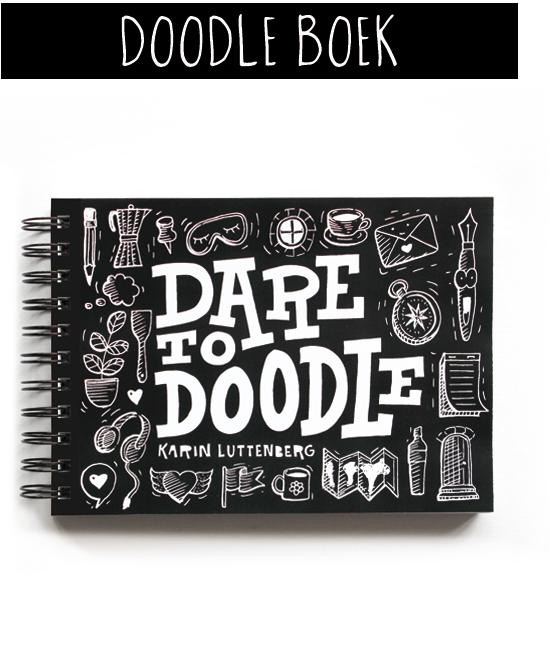 Dare to doodle boek van Karin Luttenberg