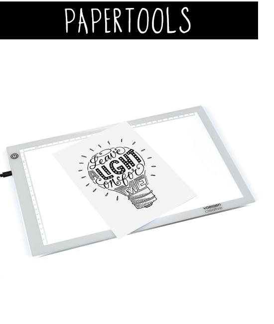 Lichtbak A4 van Paperfuel