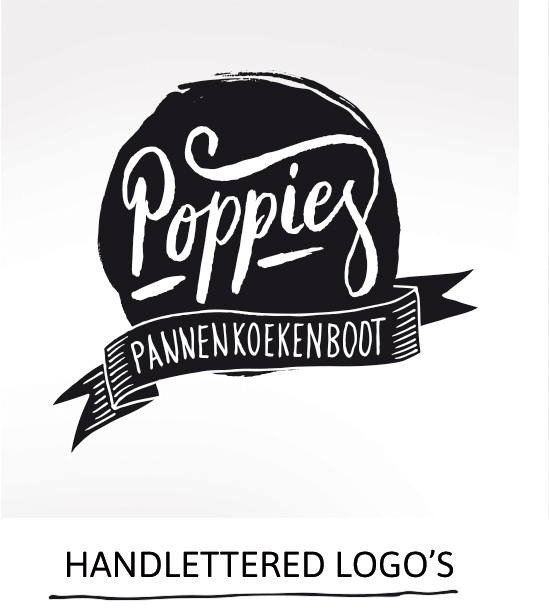 Handlettered logo's by Paperfuel