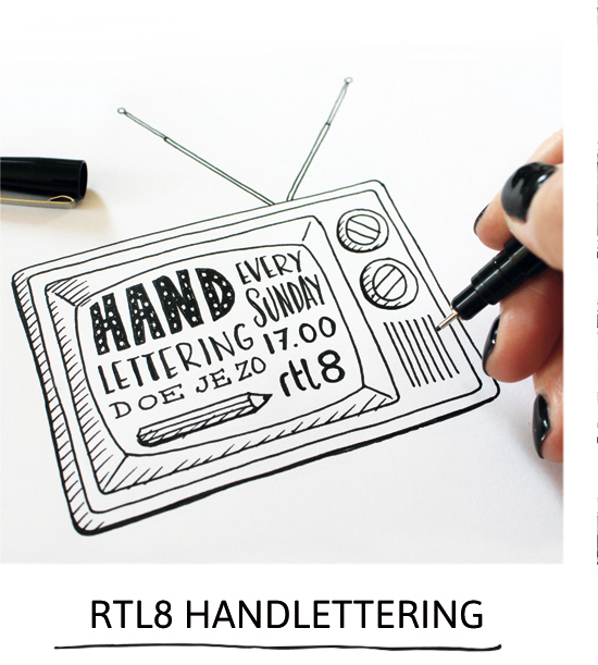 Handlettering how it's done on RTL8 by Paperfuel