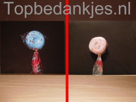 Handdoek lolly