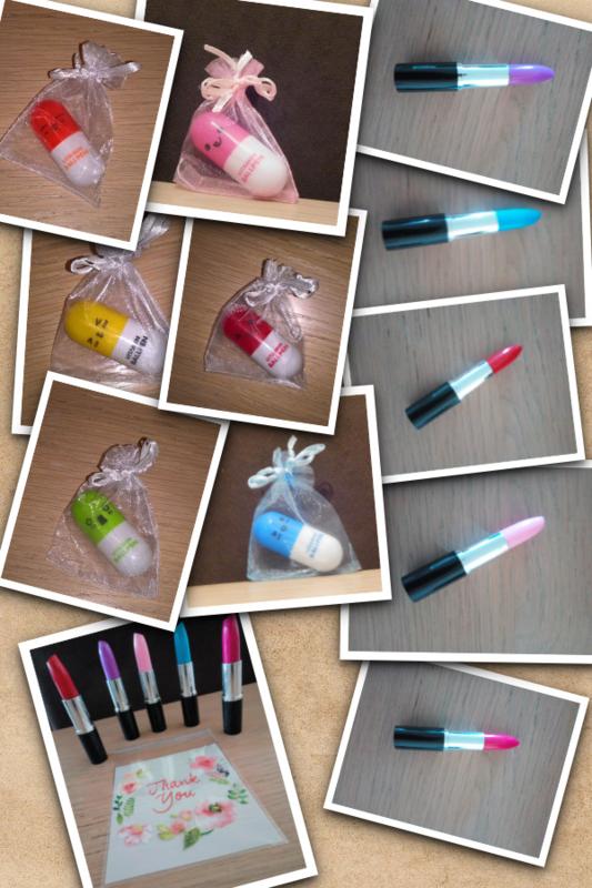 Pil pen of lipstick pen
