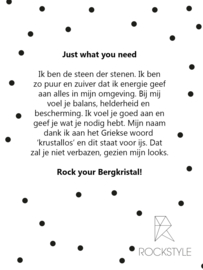 Just what you need - Bergkristal