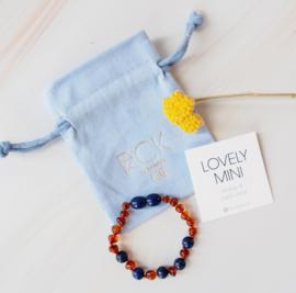 MINI: barnsteen armbandje: Lapis Lazuli