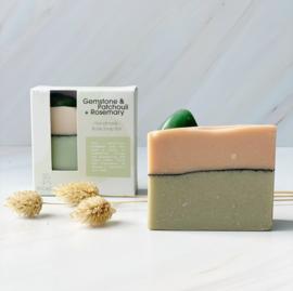 Aventurine  - Patchouli - Soap Bar