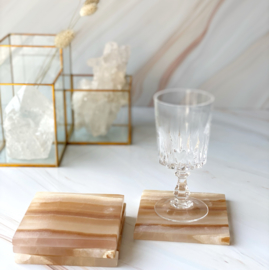 Onderzetters Honing Calciet