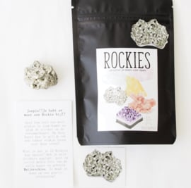 Rockie Pyriet met sticker