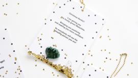 Christmas Rocks - Malachiet